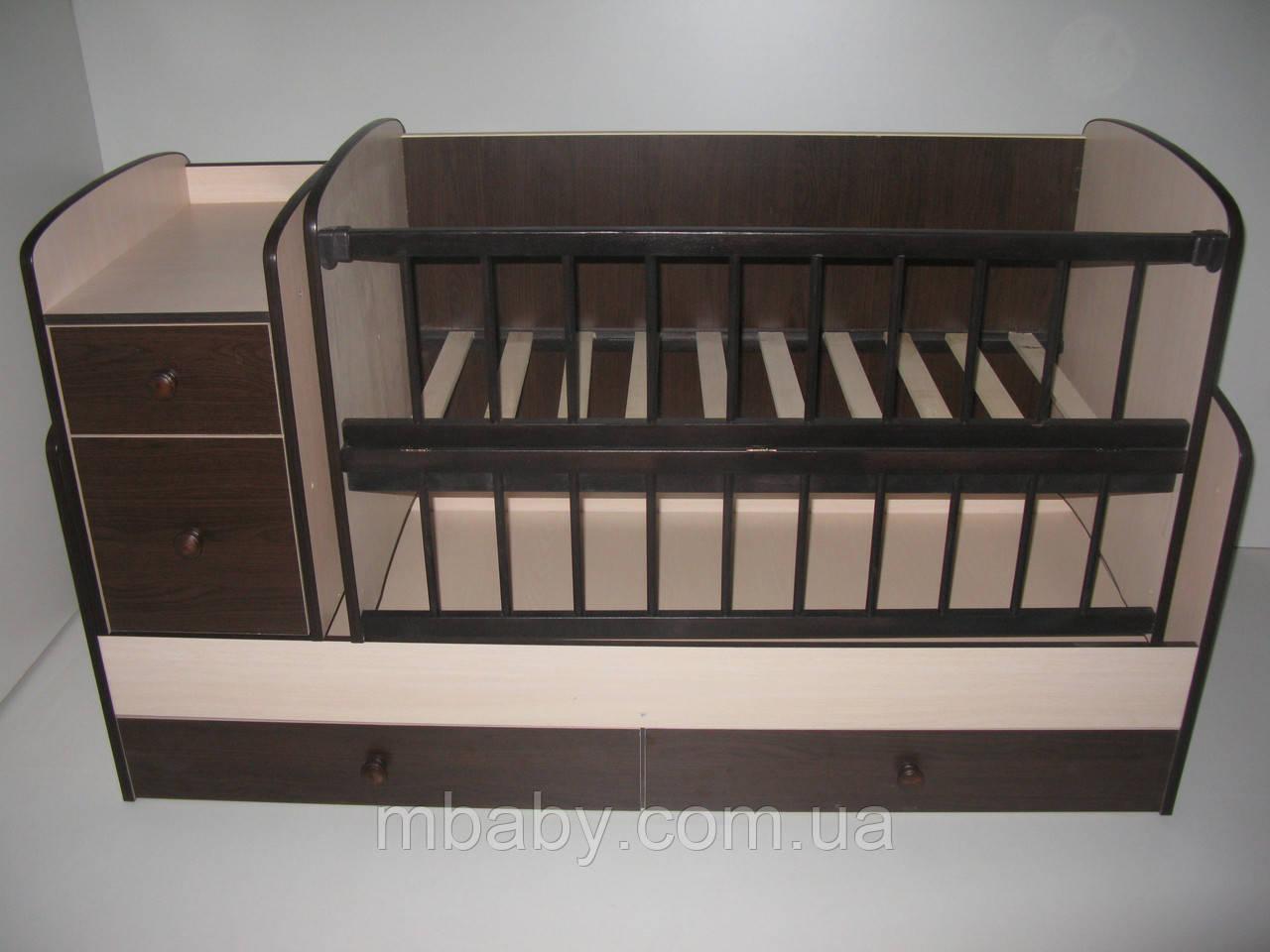 Детская кроватка трансформер  №1