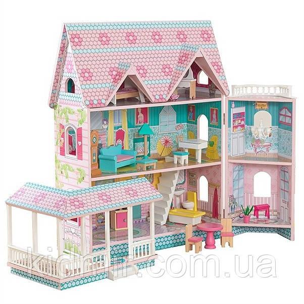 Кукольный дом с мебелью Особняк Эбби KidKraft Abbey Manor 65941