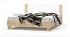 """Ліжко двоспальне 160 Маркос Меблі-Сервіс / Кровать двуспальная 160 """"Маркос"""" Мебель-Сервис"""