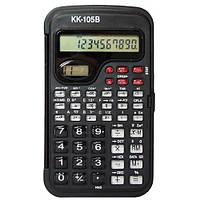 Калькулятор инженерный Kenko KK-105B, 56 функций, сложные расчеты, индикация времени, дисплей на 10 разрядов