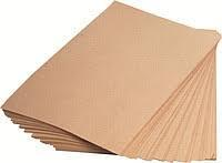 Пакувальний папір пергаментний біла 60*42см 500шт силіконізований