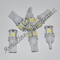 Светодиодная лампа T10-5050-5SMD