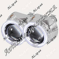 Биксеноновые линзы Fantom B3 G5 с «ангельскими глазками», фото 1