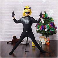 Новогодний костюм мультгероя для мальчика Суперкот 128-146 р, новогодние детские костюмы от производителя