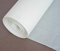 Упаковочная бумага пергаментная белая 150м*39см в рулоне силиконизированная Пром