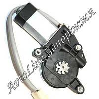 Двигатель реечного стеклоподъемника Гранат: 8 зубъев серая оплетка проводов, фото 1