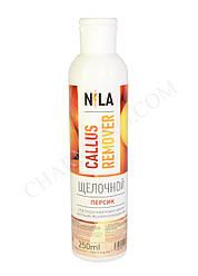 Щелочной ремувер Nila 250ml персик