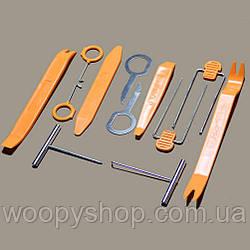 Набор инструментов для снятия обшивки салона автомобиля 12шт/уп
