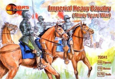 Імператорська важка кавалерія,Тридцятирічна війна. 1/72 MARS 72041