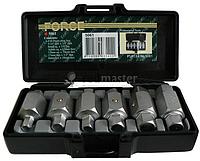 Набор ключей торцевых для замены масла 6пр. FORCE 5061