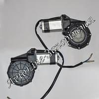 Двигатель стеклоподъемника Spal, Tiger,Convoy, Cyclon и др. (черная оплетка проводов)