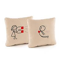 Набор подушек для влюбленных Kotico Магнит (PV_001_fk_dv)