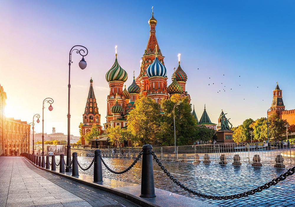 Пазлы Собор Василия Блаженного 500 элементов
