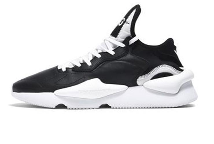 e0074b65a Мужские кроссовки Adidas Y-3 Kaiwa Black/White (Реплика ААА+), цена ...