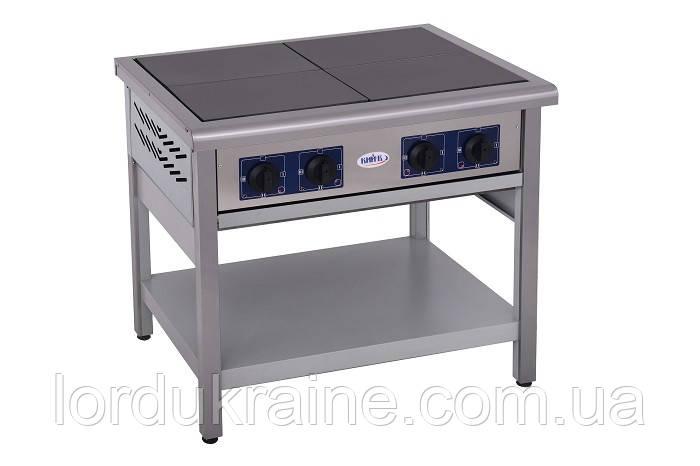 Плита электрическая профессиональная без духовки ПЕ-4 Кий-В