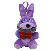 Плюшевая мягкая игрушка 5 ночей с Фредди Five Nights at Freddy's Аниматроники 15 см TOY016 От 5 лет, Кошмарный Bonny Бонни, Плюш, Сказочный/мульт герой