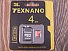 Карта памяти 4Gb MicroSD TEXNANO 10 класс
