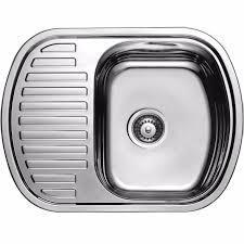 Кухонная мойка из нержавеющей стали ULA 7704 ZS satin