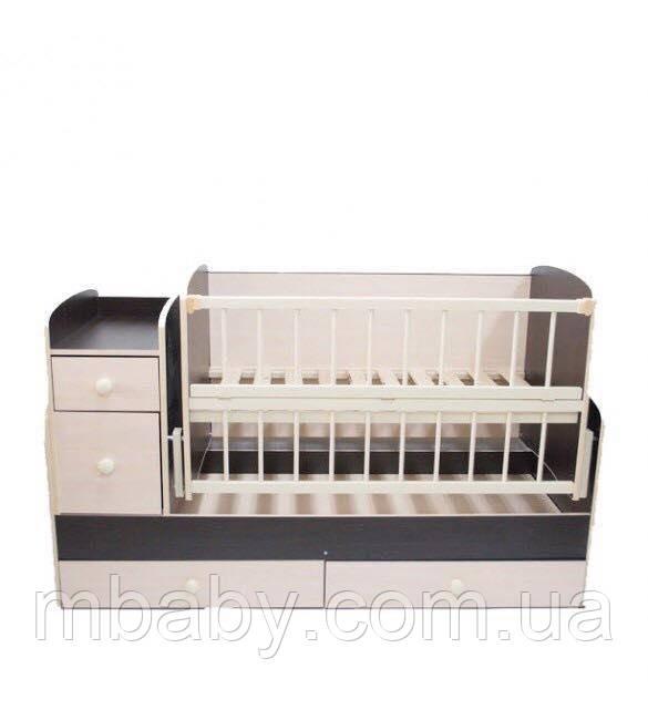 Детская кроватка трансформер  №1 (Комби)