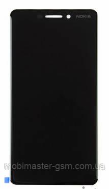 LCD модуль Nokia 6.1 (TA-1043) dual sim черный original