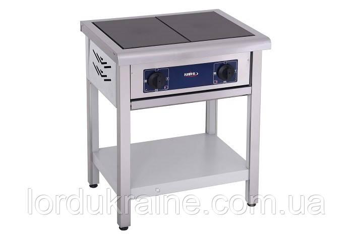 Плита электрическая профессиональная без духовки ПЕ-2 Кий-В