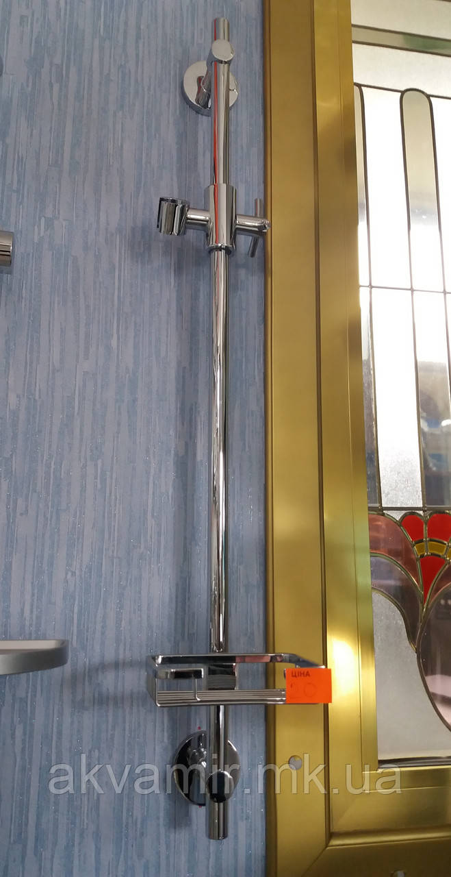 Душевая стойка Haiba Ретто с мыльницей (латунь)