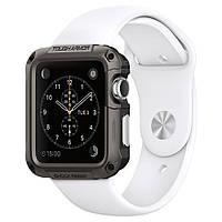 Чехол Spigen для Apple Watch, Tough Armor™ (42mm), Gunmetal (SGP11504)