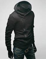 Толстовка -  куртка M, L, XL, XXL код 75 (черный)