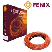 Тонкий двухжильный кабель Fenix ADSV 10 - 750Вт/0,5 м кв. для укладки под плитку
