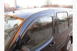 Ветровики (2 шт, Sunflex) - Fiat Doblo I 2001-2005 гг.