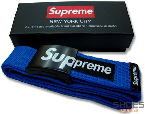 Ремень Supreme Blue