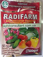 Біостимулятор Радифарм (25 мл) — ефективний укорінювач для застосування на саджанцях, кольорах, овочевих культур