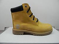 Детские подростковые демисезонные ботинки Timberland опт