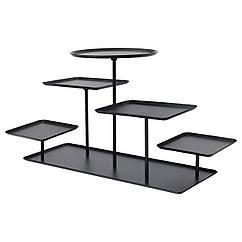 Подставка декоративная IKEA SAMMANHANG черная 904.139.30