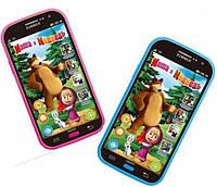 Интерактивный телефон Маша и Медведь
