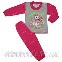 Комбинированная пижама Шик на рост 116-122 см - Начёс