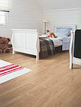 Ламінат Quick step колекція Eligna декор Дуб білий лакований, фото 3