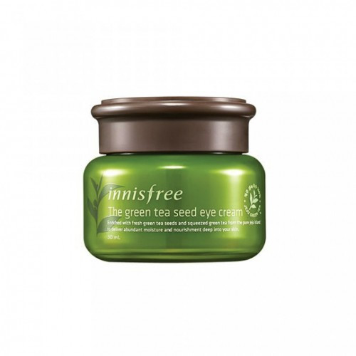 Innisfree Увлажняющий крем для век Green Tea seed eye cream 30ml