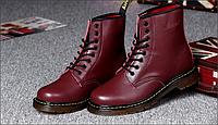 Dr.Martens женские ботинки натуральная кожа 1460 серия с мехом и без
