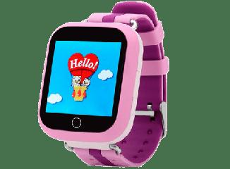 Детские умные часы с gps Q100s розовые
