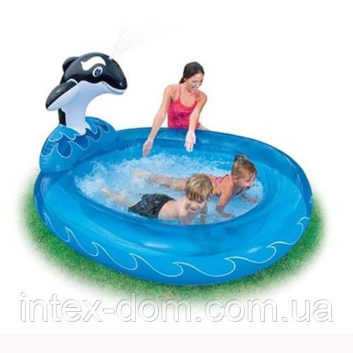 """Детский надувной бассейн Intex, 57436 """"Дельфин"""""""