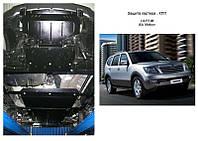 Защита на радиатор, двигатель, КПП, раздатка для Kia Mohave (2008-) Mодификация: 3.0TDI; 3.8 бензин Кольчуга 2.0275.00 Покрытие: Zipoflex