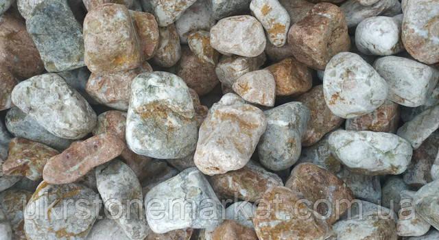 Галька мармур персик 120-250