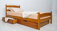 """Кровать деревянная односпальная """"Ликерия"""" с изножьем 800*2000"""