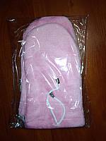 Варежки для парафинотерапии розовые (пара)