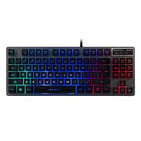 Ігрова клавіатура FANTECH К611 FIGHTER 3х LED, METALL, 87 клавіш, фото 1