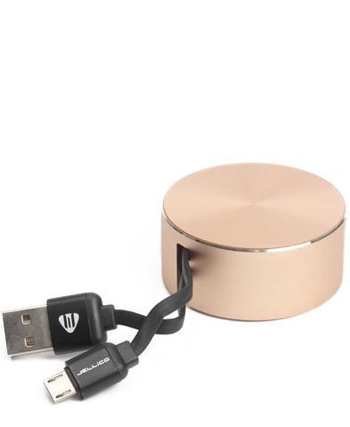 Дата кабель Jellico TY-10 Type-C 0.9m 3A Gold