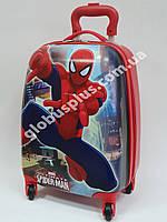 Детский чемодан дорожный Человек Паук, Spider Man на четырех колесах 520349