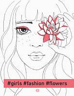 #girls #fashion #flowers, фото 1