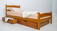 """Кровать деревянная односпальная """"Ликерия"""" с изножьем 900*2000"""